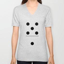 Domino Costume Unisex V-Neck