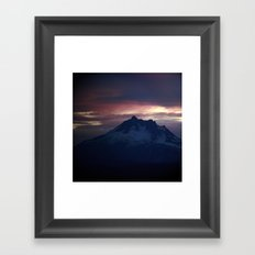 Jefferson at Sunset Framed Art Print