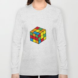 Rubiks Cube Long Sleeve T-shirt