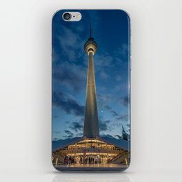 Berlin TV Tower iPhone Skin