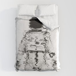 Melted spaceman Comforters