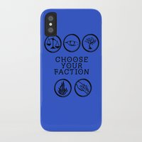 divergent iPhone & iPod Cases featuring Divergent - Choose your faction by Lunil