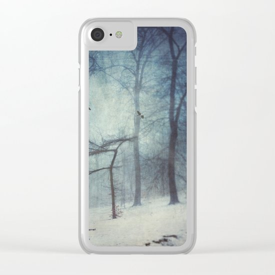 Faint Forest Clear iPhone Case