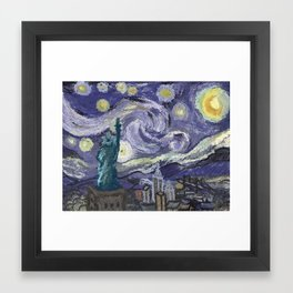 Hurricane Sandy Framed Art Print