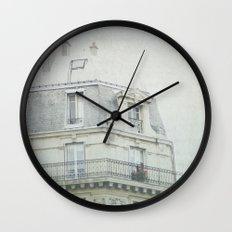 Letters From la vie à Paris Wall Clock