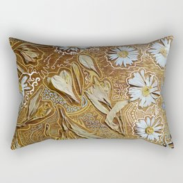 dried flowers and photoshop Rectangular Pillow
