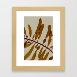 medium kelp Framed Art Print