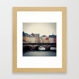 Frederiksholms Kanal Framed Art Print