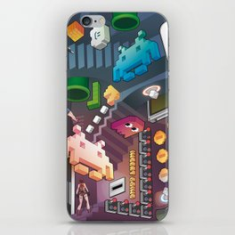 Lost in videogames iPhone Skin