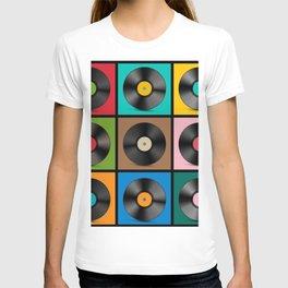 Retro Record Vinyls T-shirt