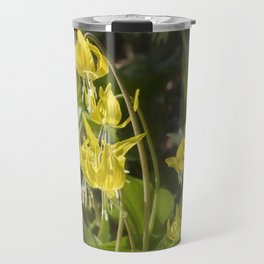 Glacier Lily Painterly Travel Mug