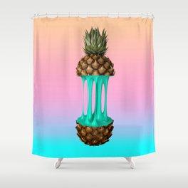 Goo Pineapple Shower Curtain