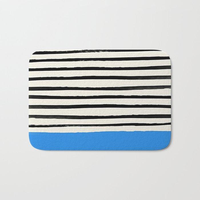Ocean x Stripes Bath Mat