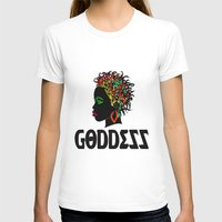 goddess T-shirts featuring Goddess by RespecttheQueenDecor