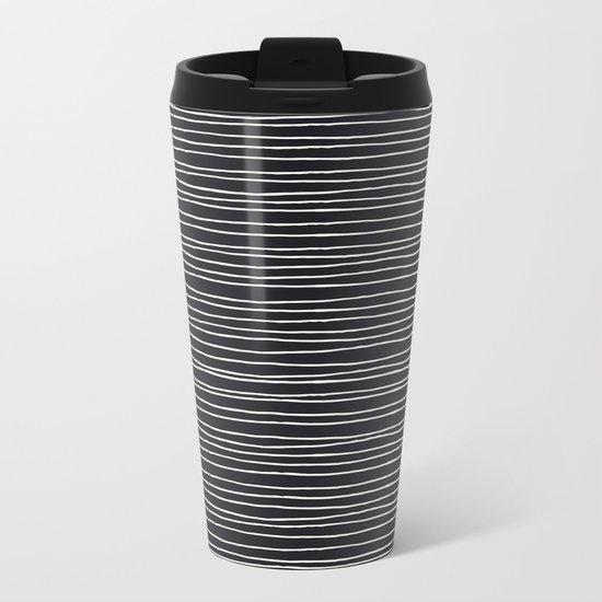 Lines Metal Travel Mug