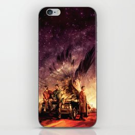 Carry On My Wayward Son iPhone Skin