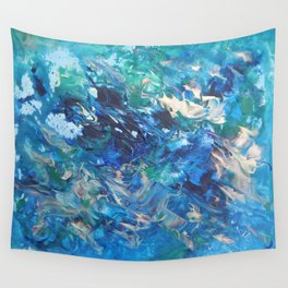 A Boat's Wake Wall Tapestry