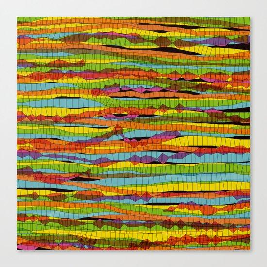 patterns - spaghettis 1 Canvas Print
