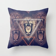 a moon for breakfast (variant) Throw Pillow
