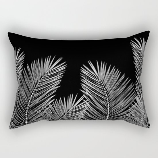 Dark Palm Skies Rectangular Pillow