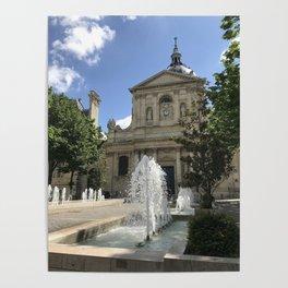 Place de la Sorbonne Poster