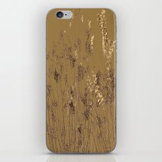 Thin Branches Sepia iPhone Skin