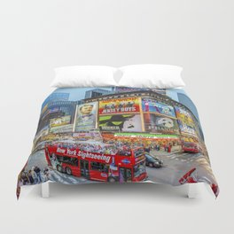 Times Square III Special Edition I Duvet Cover
