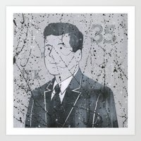 jfk Art Prints featuring JFK by Doren Chapman