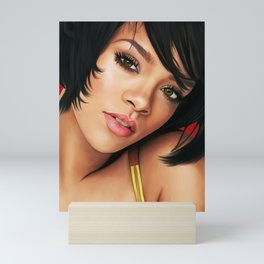 Rihanna Digital Work 3 Mini Art Print