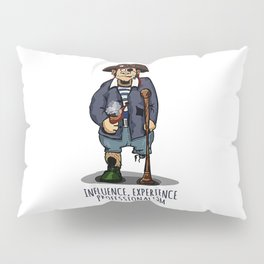 Old Pirate - Influence, Experience, Professionalism. The Dream Of A Personnel Department Pillow Sham