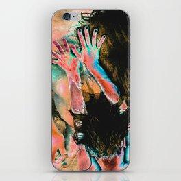 Touching water ground iPhone Skin