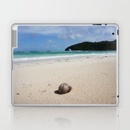 The Coconut Nut is a Giant Nut - beach view Laptop & iPad Skin