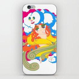 Japnese Wind goddess -FUJIN- iPhone Skin