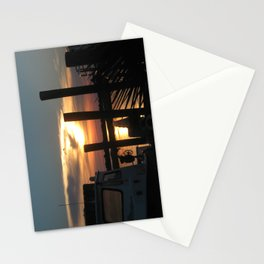 Provisioned Sunset Stationery Cards
