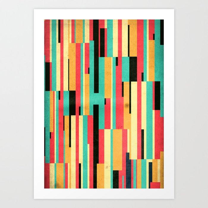 Kiko Pattern Art Print