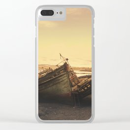 Wrecked Vessels Clear iPhone Case