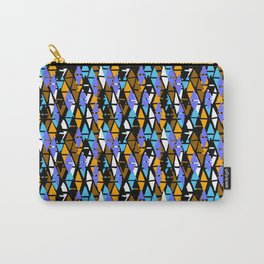 Harlequin pattern Carry-All Pouch