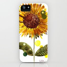 Imaginary Sunflower iPhone Case