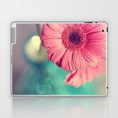 Pink Gerbera Daisy Laptop & iPad Skin