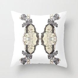 She mirrors she slips Throw Pillow