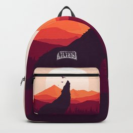 Bark At The Moon Backpack