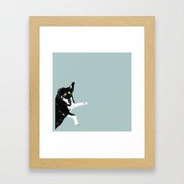 Carly Feelin Antisocial Framed Art Print