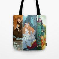 shakespeare Tote Bags featuring Shakespeare by Supergna