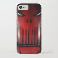 punisher iPhone & iPod Cases featuring The Punisher by Kosept