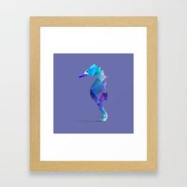 Seahorse. Framed Art Print