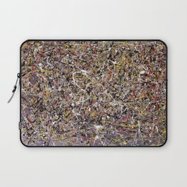 Intergalactic - abstract painting by Rasko Laptop Sleeve