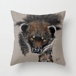 Binturong (Bear Cat) Throw Pillow