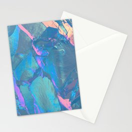 Holographic Artwork No 4 (Crystal) Stationery Cards