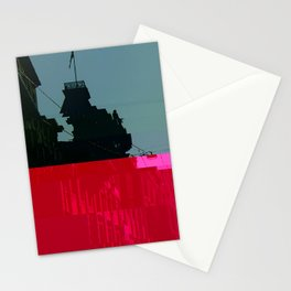 Trieste Glitch 01 Stationery Cards