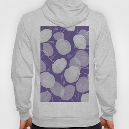 Ultra Violet Floral Abstract. Pantone Color of the Year 2018 Hoody